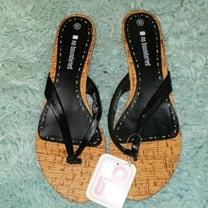 NWT Sandals by no boundaries